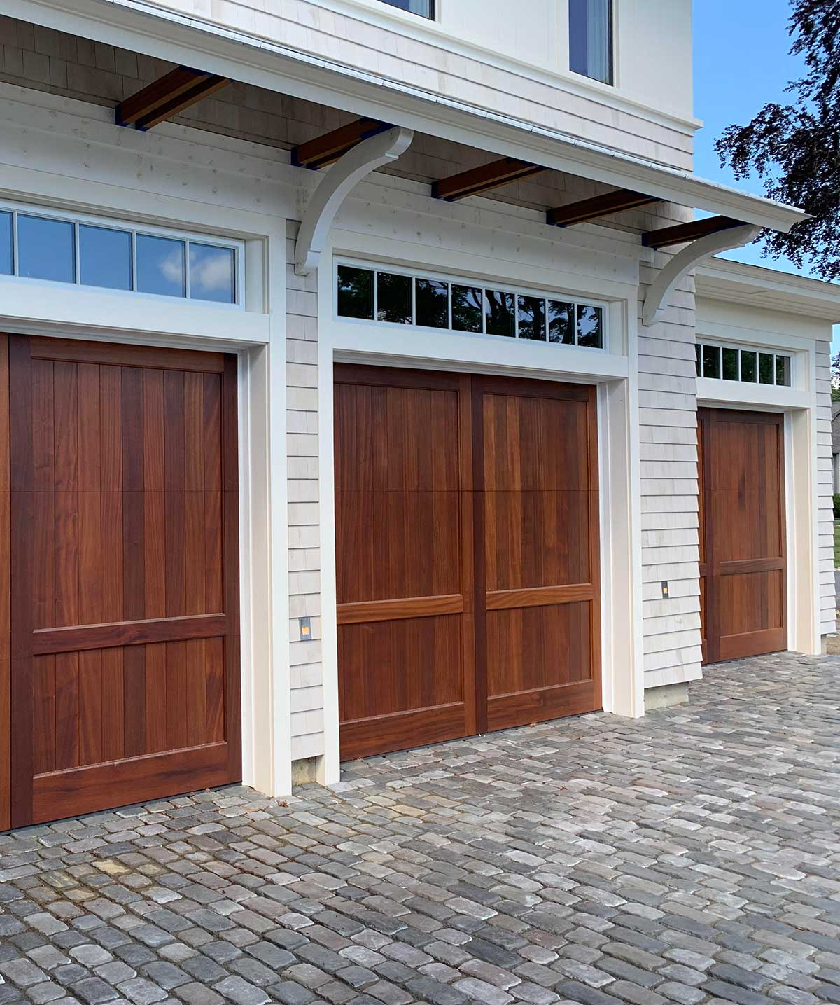 mahogany-custom-garage-door